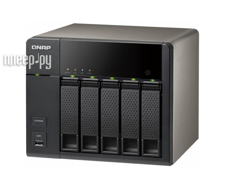 Сетевое хранилище QNAP TS-569L  Pleer.ru  35004.000