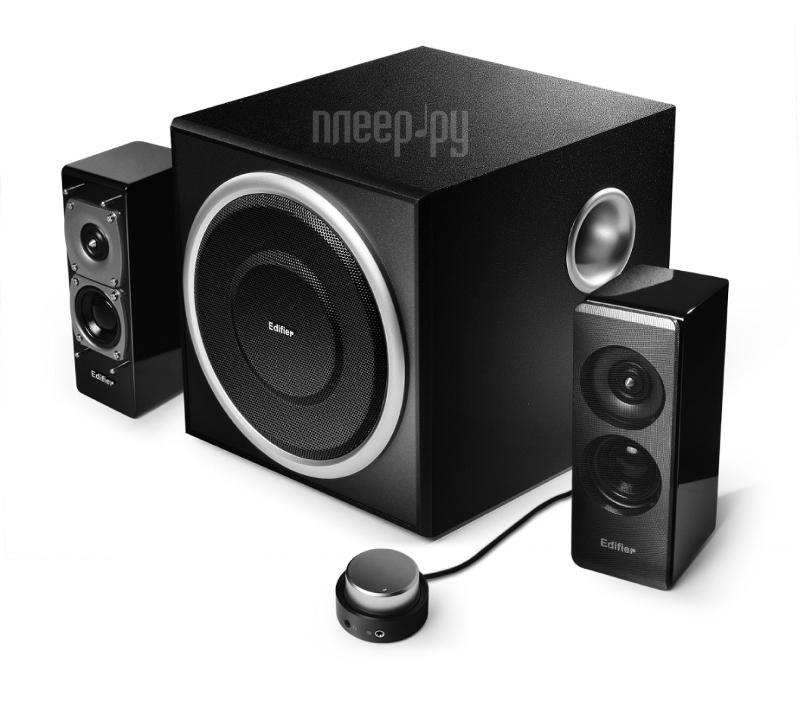 Колонки 2.1 Edifier S330D Black  Pleer.ru  6210.000
