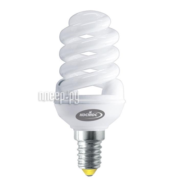 Лампа энергосберегающая Космос, свет: теплый.  Модель Т2 SPC 15W E1427.
