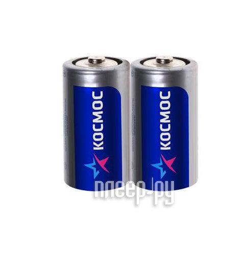 Батарейка C - Космос R14 (2 штуки)