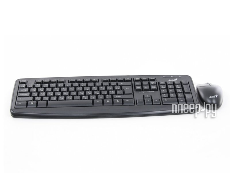 Набор Genius KM-110X Black USB / PS/2  Pleer.ru  426.000