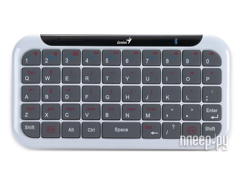 Genius Mini LuxePad Bluetooth White-Grey - купить клавиатура ...