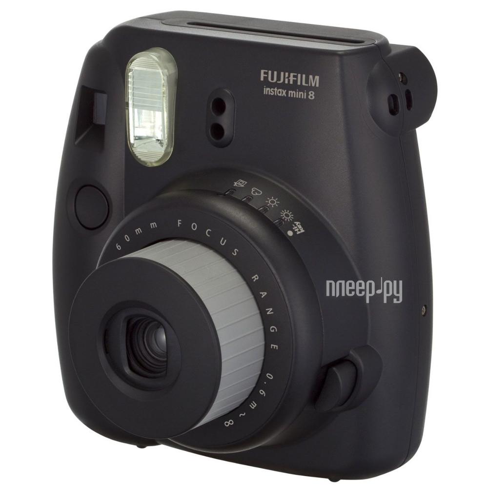 Фотоаппарат FujiFilm 8 Instax Mini Black  Pleer.ru  3398.000