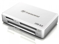 Карт-ридер Transcend Multi Card Reader USB 3.0 TS-RDF8W White