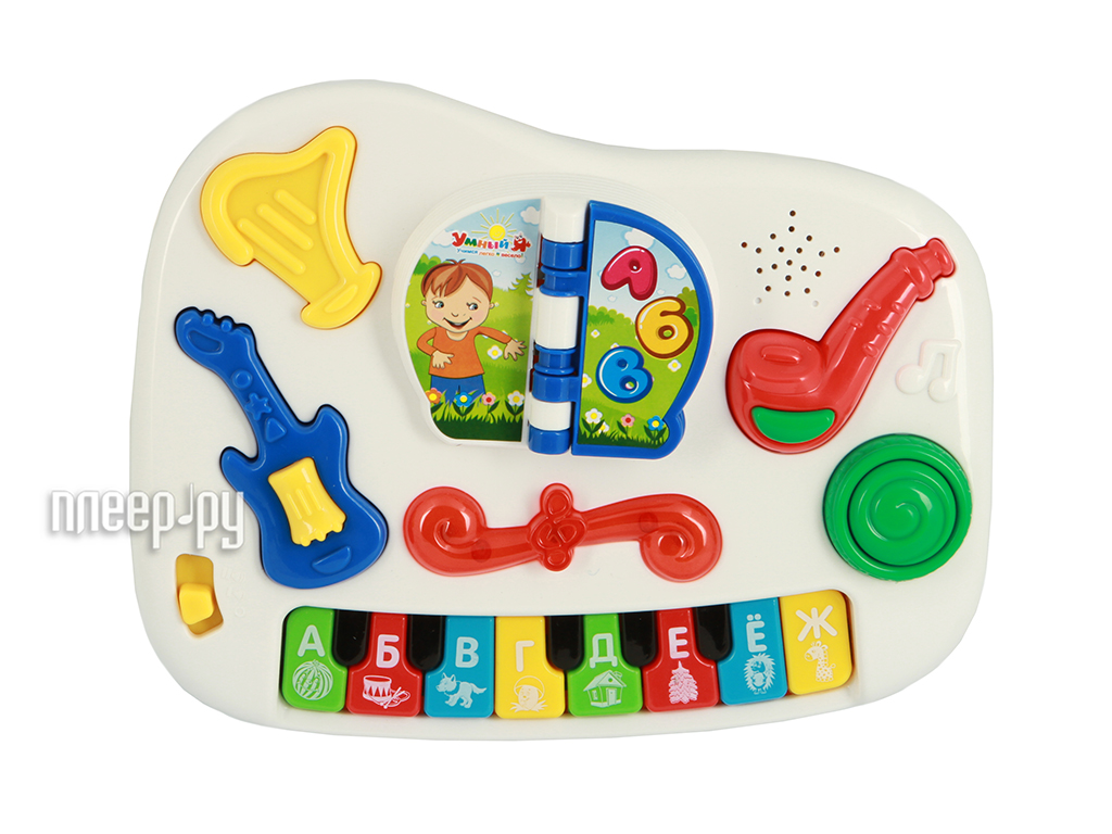 Детский музыкальный инструмент Zhorya Умный Я Х75183 Обучающее Пианино