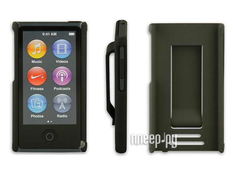 Аксессуар Чехол Just Case for iPod Nano 7 Black  Pleer.ru  599.000