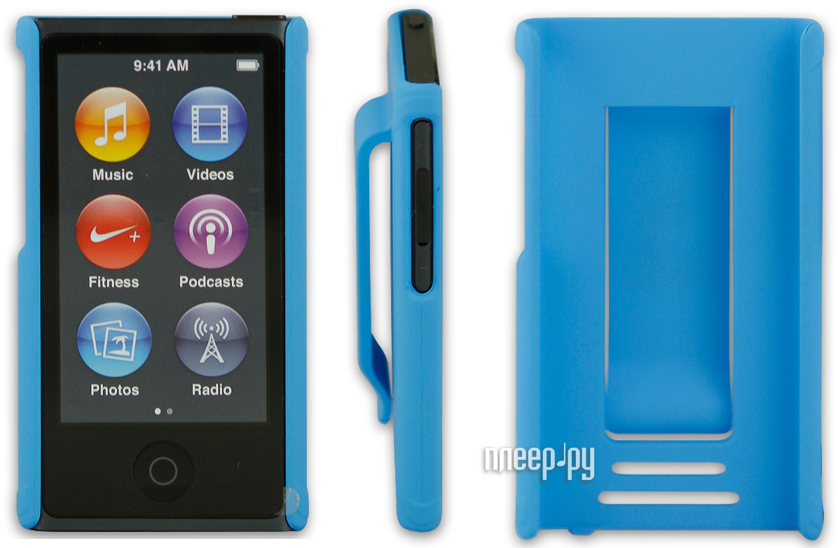 Аксессуар Чехол Just Case for iPod Nano 7 Blue  Pleer.ru  599.000