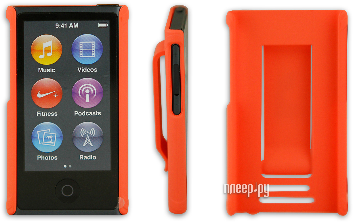 Аксессуар Чехол Just Case for iPod Nano 7 Orange  Pleer.ru  599.000