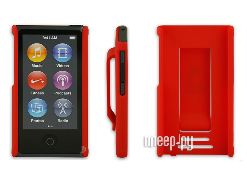 Аксессуар Чехол Just Case for iPod Nano 7 Red  Pleer.ru  599.000