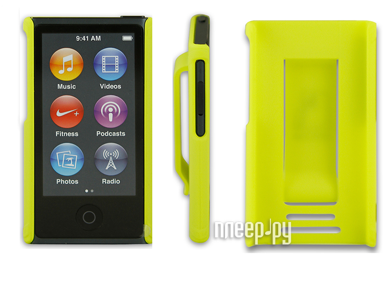 Аксессуар Чехол Just Case for iPod Nano 7 Yellow  Pleer.ru  599.000
