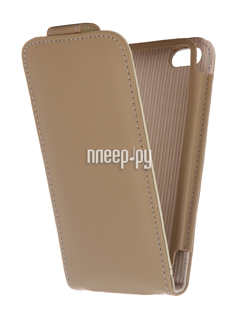 Аксессуар Чехол Case Logic for iPhone 5 IP5LFP-BRW Brown  Pleer.ru  425.000