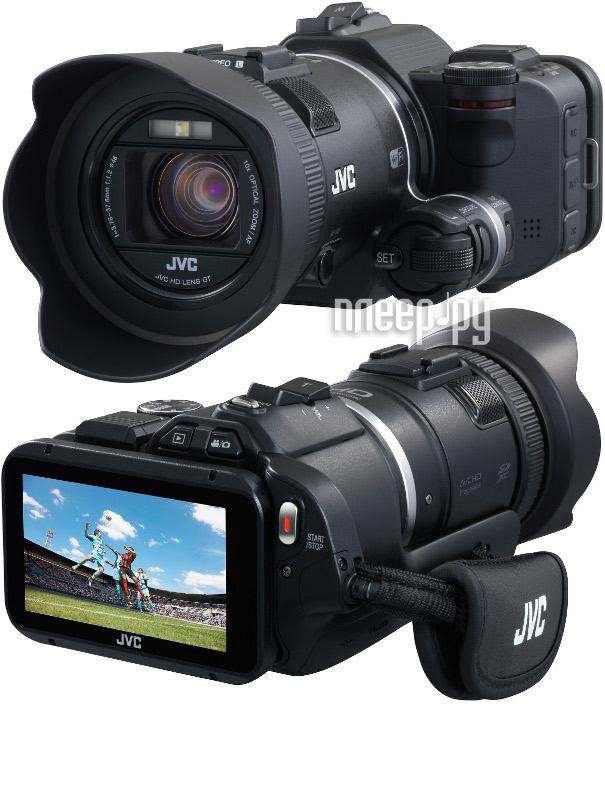 Видеокамера JVC GC-PX100 Black  Pleer.ru  36177.000