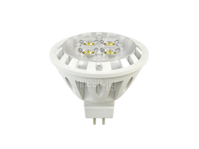 Лампочка X-flash Spotlight MR16 XF-SPL-L-GU5.3-6W-3K-220V желтый свет, линза 43491  Pleer.ru  193.000