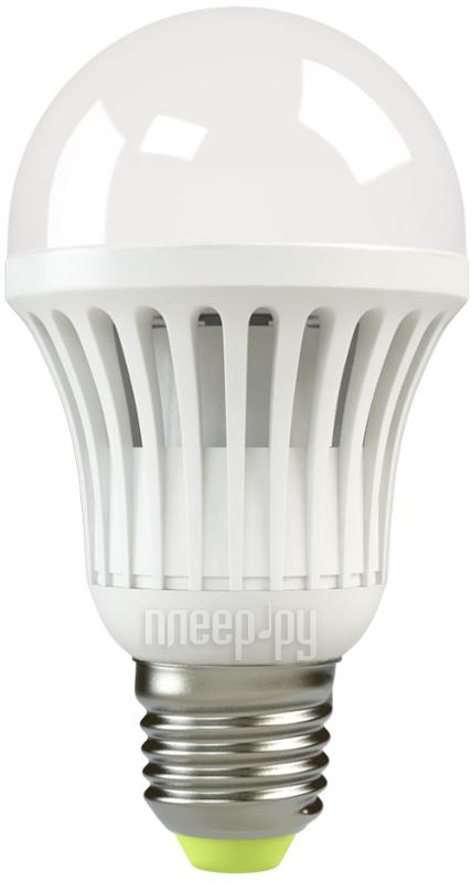 Лампочка X-flash Bulb XF-BG-E27-10W-3K-220V желтый свет, матовая 43538