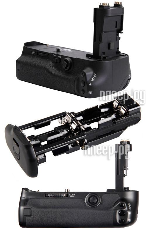 Батарейный блок Fujimi FJBG-E11 - Canon EOS 5D Mark III - вертикальная питающая рукоятка  Pleer.ru  2800.000