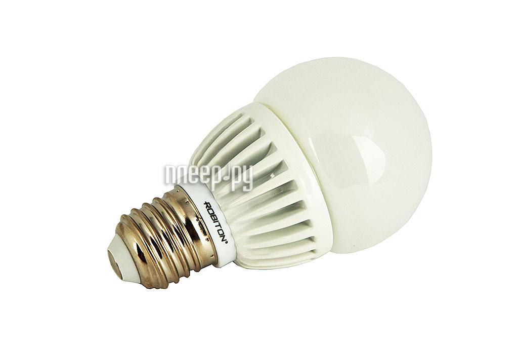 Лампочка Robiton LED Globe-6.5W-2700K-E27  Pleer.ru  411.000