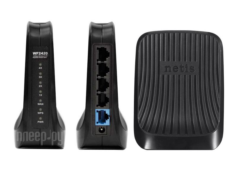 Wi-Fi роутер Netis WF-2420  Pleer.ru  649.000
