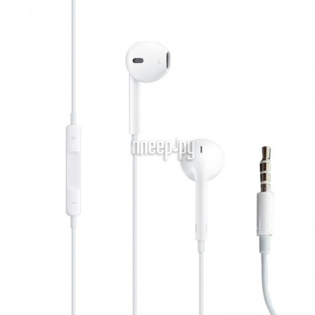 Гарнитура APPLE EarPods White MD827ZM/A/B