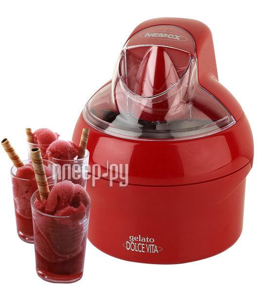 Мороженица Nemox Dolce Vita 1.1L Rossa  Pleer.ru  5999.000