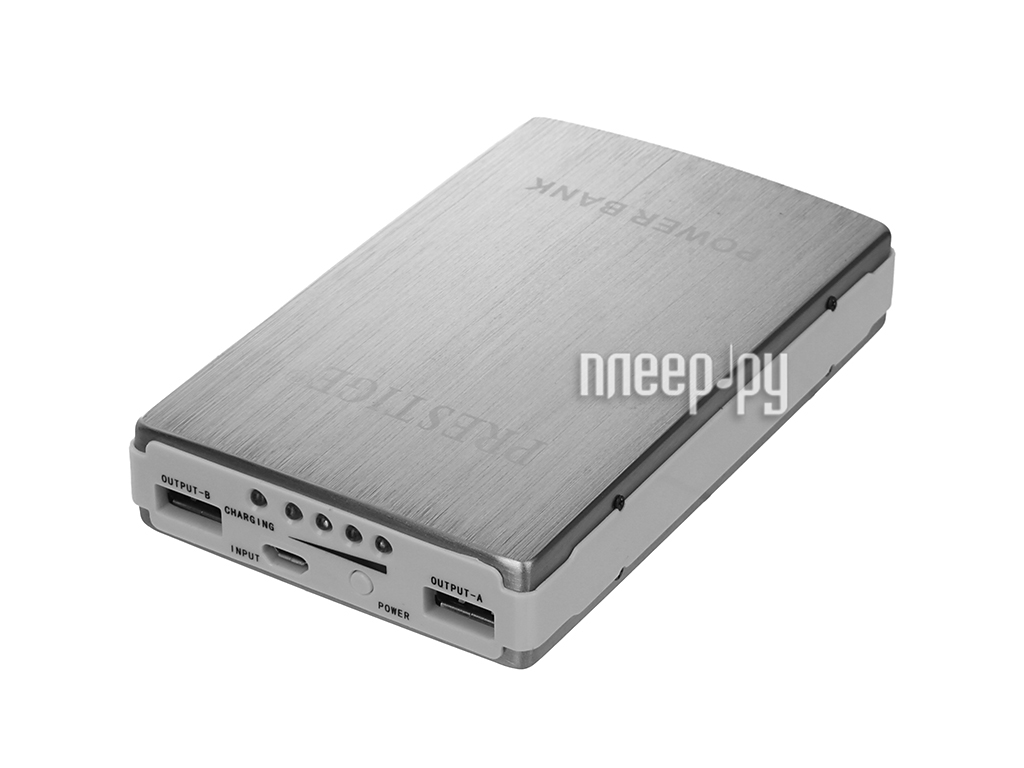 Аккумулятор Prestige Power Bank 12000 mAh EA-1200IS  Pleer.ru  1310.000