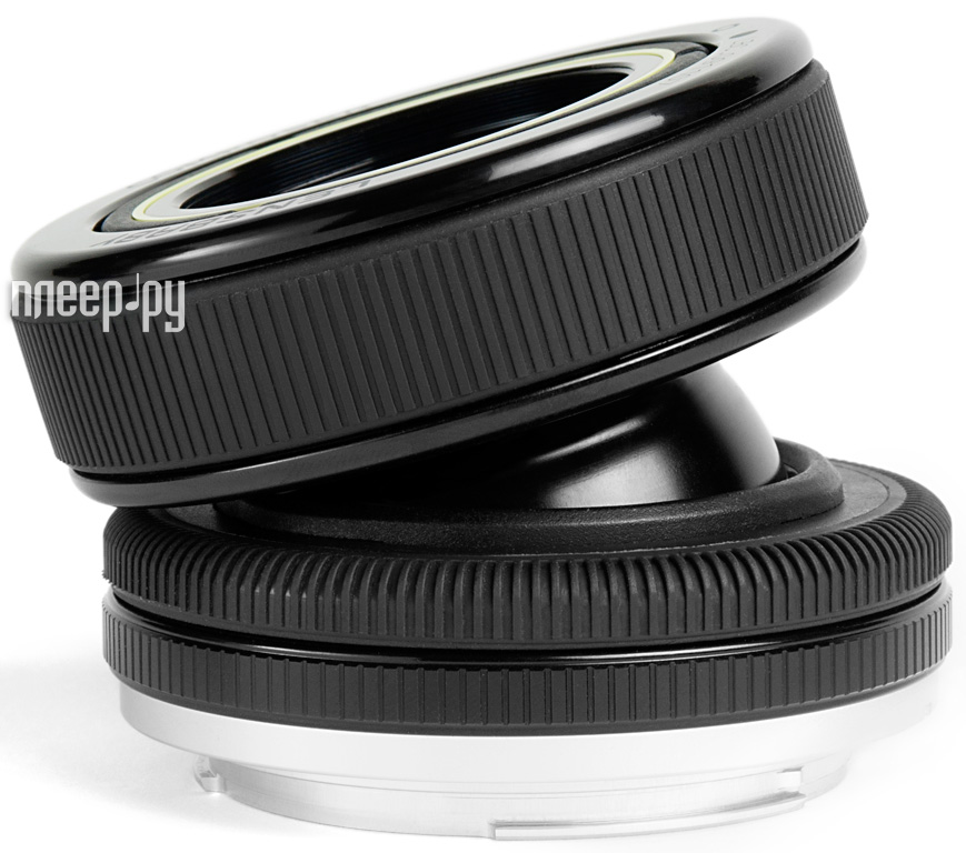 Объектив Lensbaby Composer Pro Double Glass for Micro 4/3 LBCPDGM  Pleer.ru  9149.000