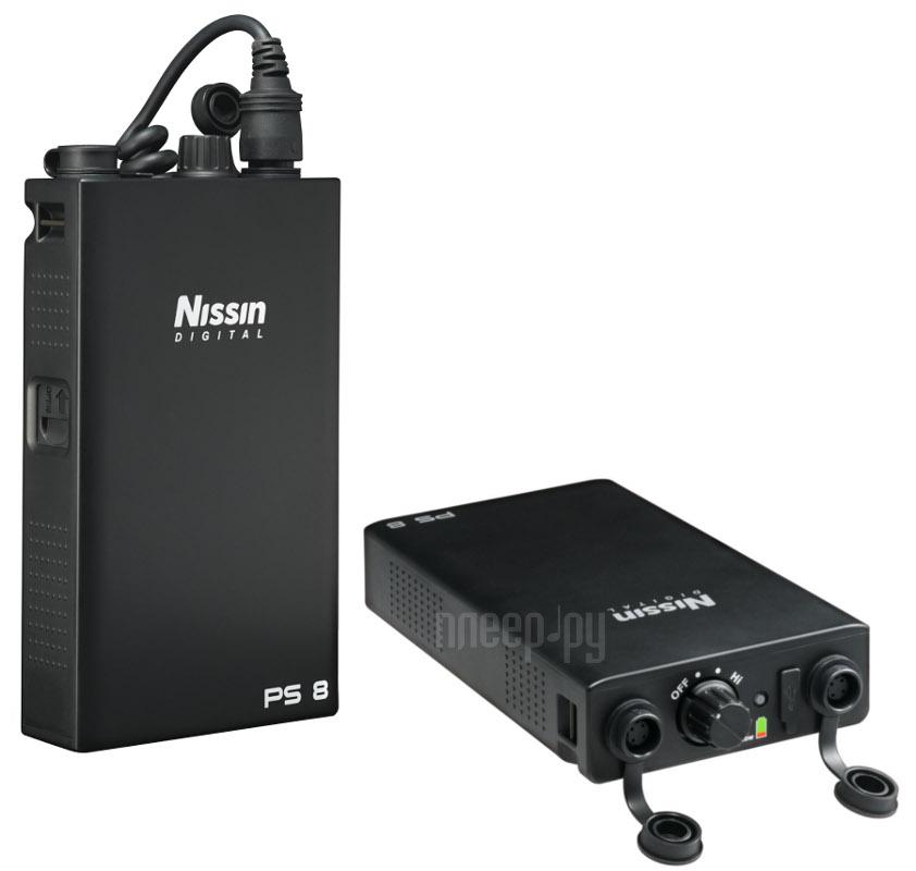 Батарейный блок Nissin PS8 - внешний источник питания для Canon 580EX II / 600EX / MR-14EX / MT-24EX / Nissin Di866С / MG8000C