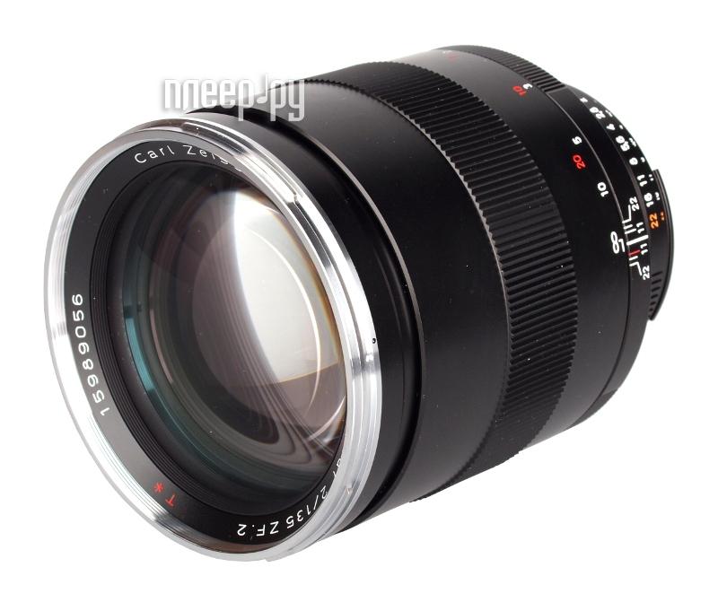 Объектив Carl Zeiss Canon 135 mm F/2 Apo-Sonnar T ZE  Pleer.ru  94189.000