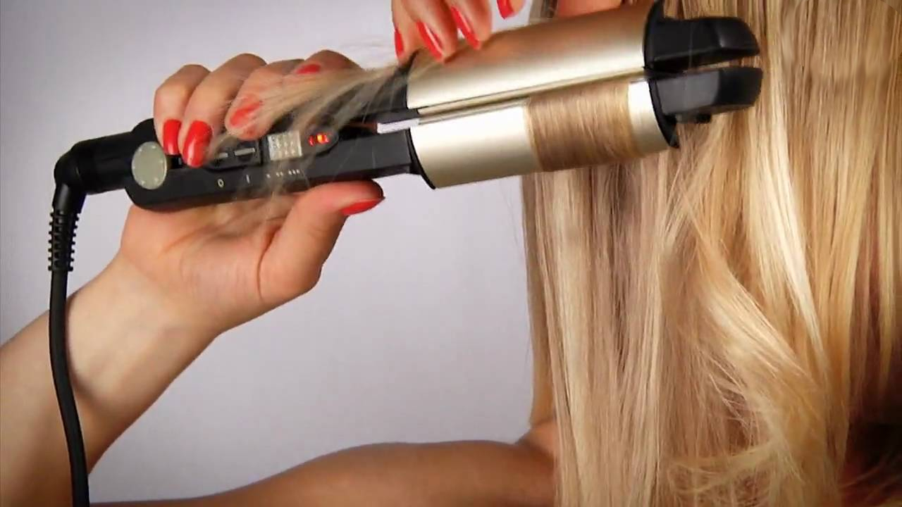 Утюжок для волос завивка локон