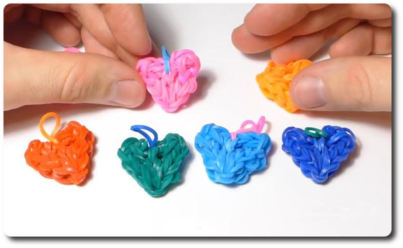 Резинки для плетения фигурок видео простое