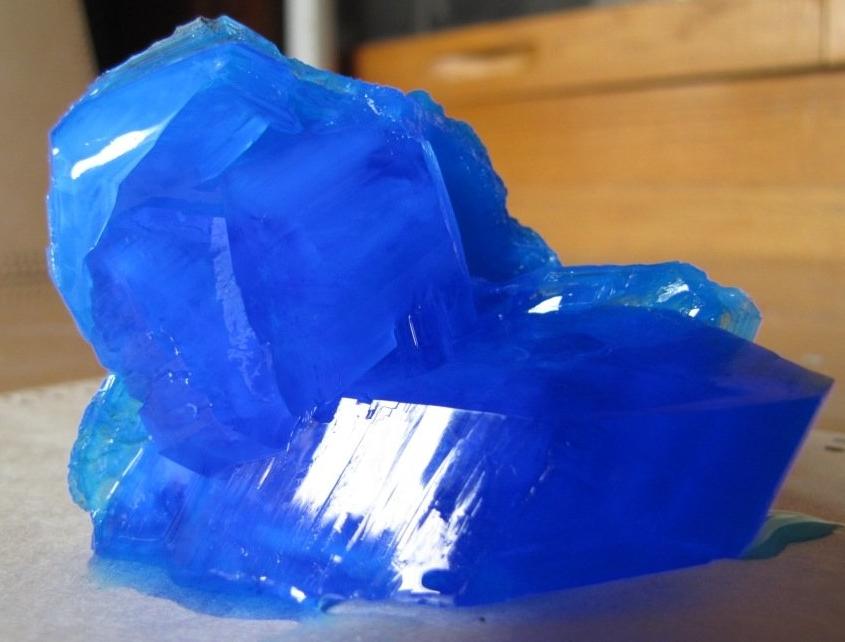 Изготовление кристалла в домашних условиях