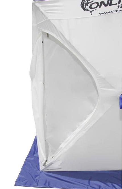 Палатка Onlitop Призма 150 Стандарт В95Т1 White-Blue 1176215