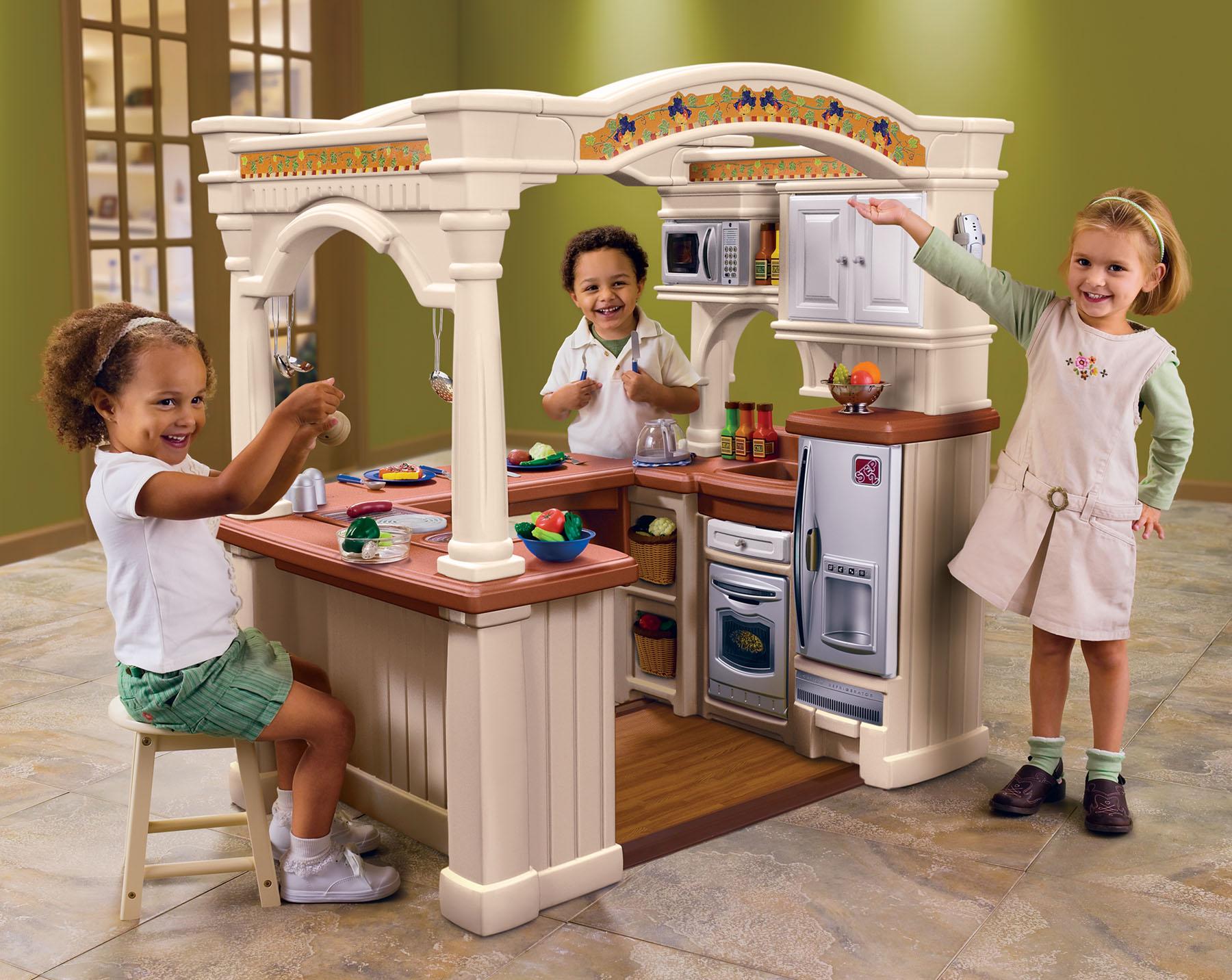 Кухня для детей  видео