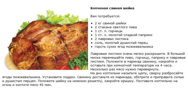 Рецепт копчения сала и мяса в домашних условиях