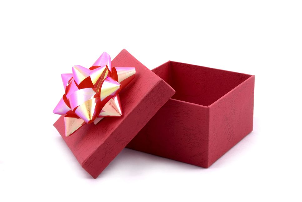 Коробки с подарком фото 288