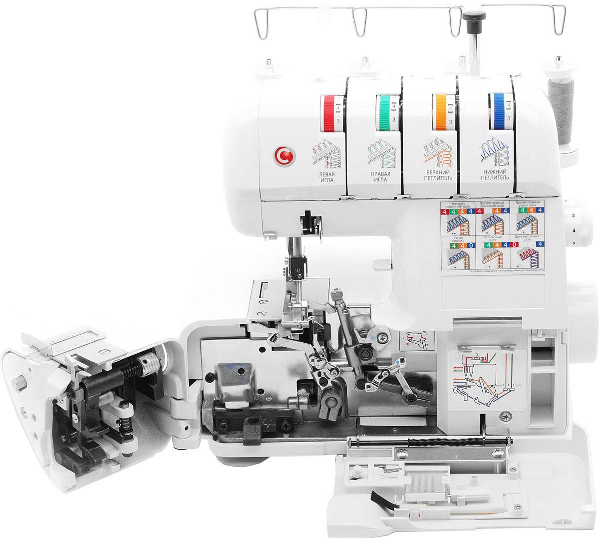 12bf40921580 С помощью регулятора подачи ткани можно настроить амплитуду перемещения  гребенок таким образом, что ткань будет присбариваться при шитье или  наоборот ...