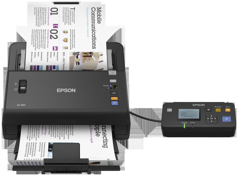 scanner recto verso epson