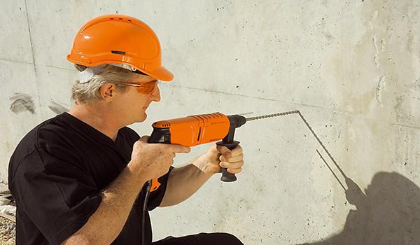 ударная дрель для бетонных стен