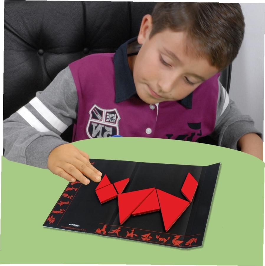 Танграм фото с детьми
