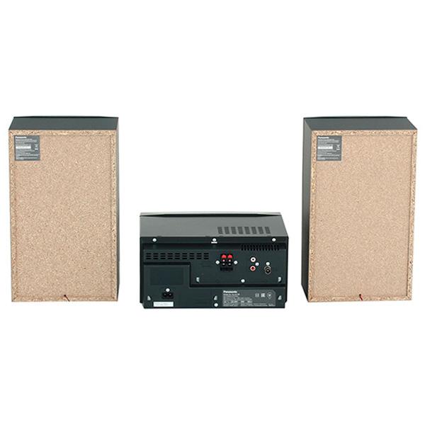 64630864f423 Музыкальный центр Panasonic SC-UX100 SC-UX100EE-K поддерживает  воспроизведение аудио с компакт-дисков и цифровых носителей информации.