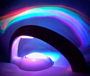 Гаджет ночник проектор радуга bw10152
