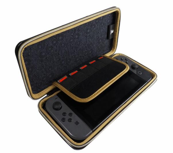 13bc36948fd5 Стильный, защитный чехол для консоли Nintendo SWITCH. Металлический корпус  для максимальной защиты вашей консоли. Прочный внутренний материал,  внутренний ...