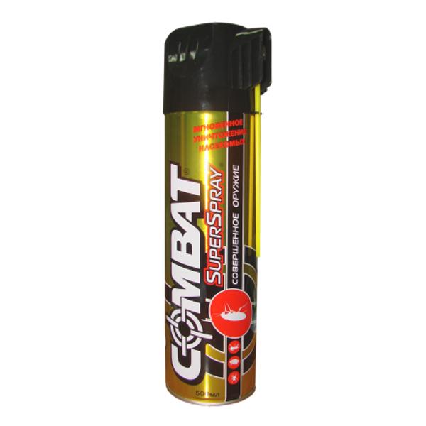 combat super spray plus Средство защиты COMBAT Super Spray Аэрозоль 500мл