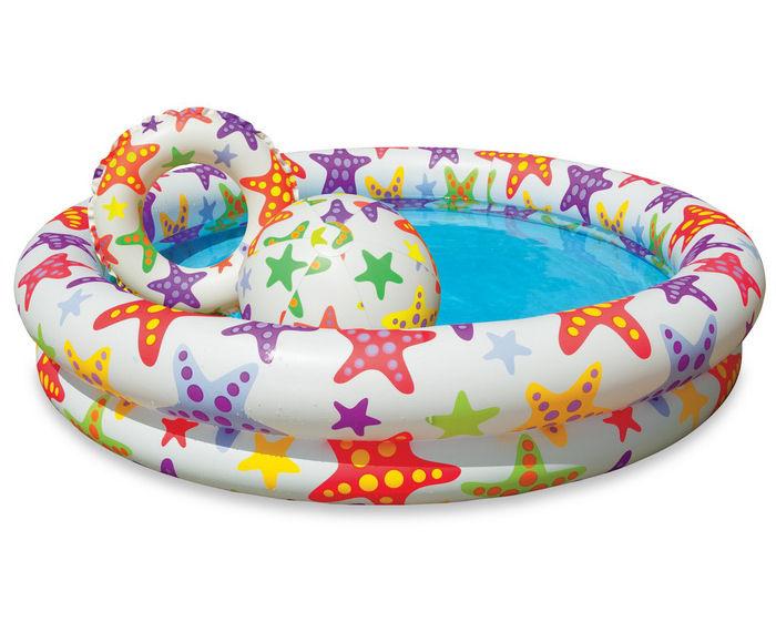 Купить Детский бассейн Intex Звезды / Шарики 59460, Звезды 59460