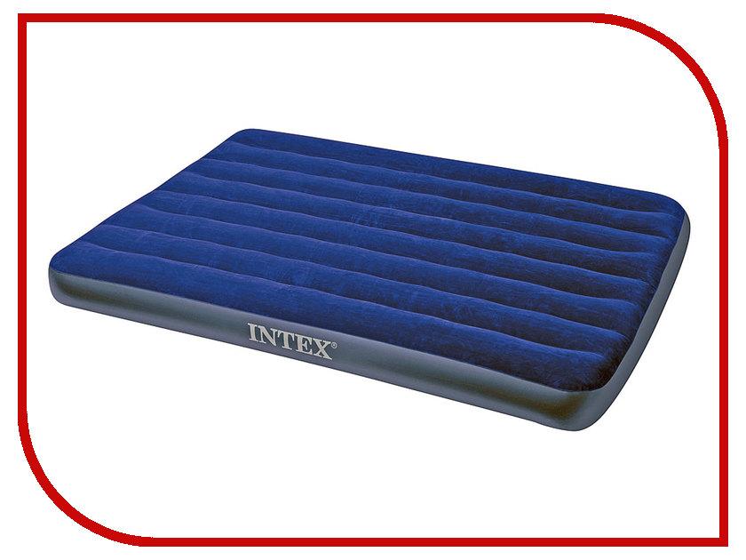 Купить Надувной матрас Intex Full Classic Downy Bed 137x191x22cm 68758