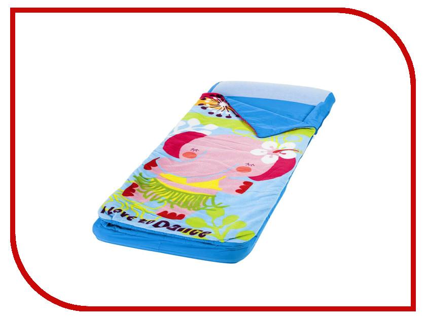Купить Надувной матрас Intex со спальным мешком Hula Elly 64x152x20cm + насос 66802