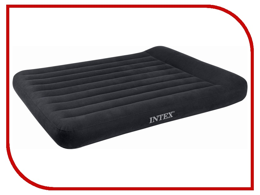Купить Надувной матрас Intex Full Pillow Rest 137x191x23x30cm + насос 66780