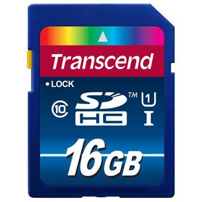Карта памяти 16Gb - Transcend High-Capacity Ultimate Class 10, UHS 1 Secure Digital TS16GSDU1