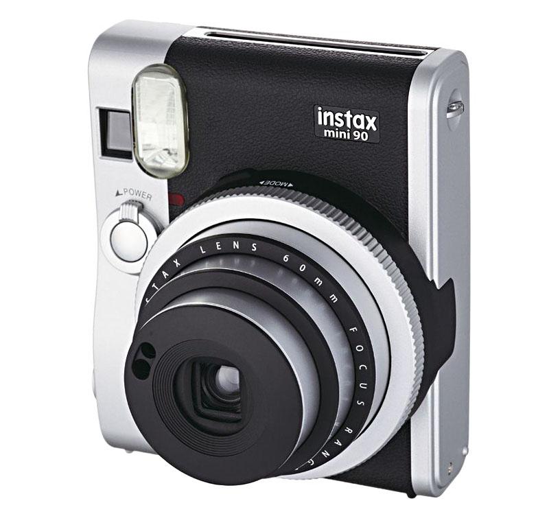 fujifilm s5 pro Фотоаппарат Fujifilm 90 Instax Mini Neo Classic Black-Silver