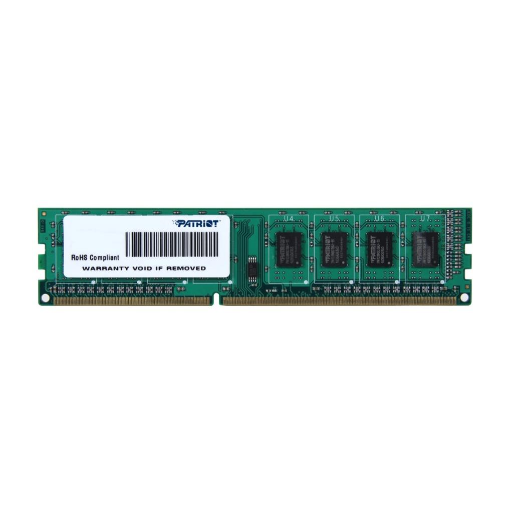 Купить Модуль памяти Patriot Memory DDR3 DIMM 1333MHz PC3-10600 - 4Gb PSD34G133381, PC3-10600 DIMM DDR3 1333MHz
