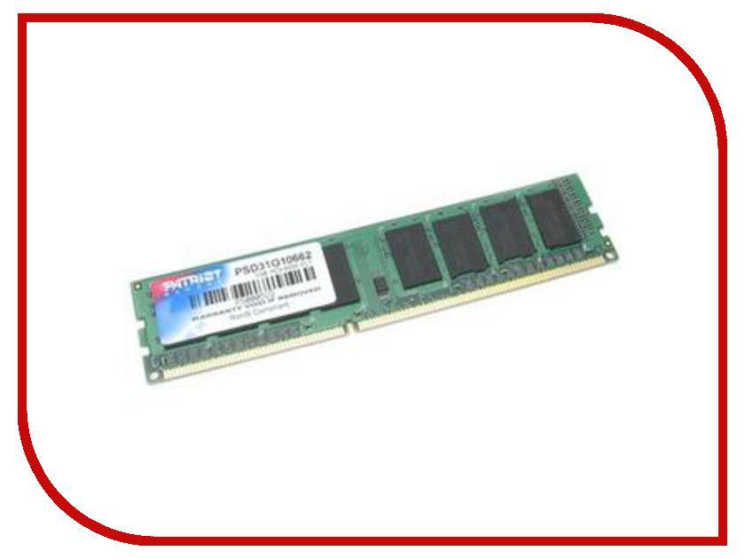 Купить Модуль памяти Patriot Memory DDR2 DIMM 800MHz PC2-6400 - 2Gb PSD22G80026 / PSD22G8002, PC2-6400 DIMM DDR2 800MHz
